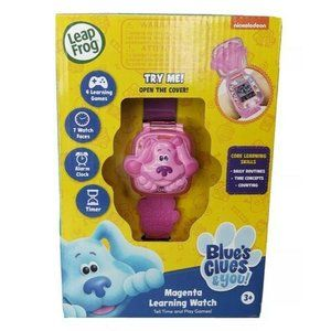 New Nickelodeon Blues Clues Magenta Learning Watch